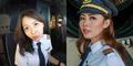 Foto: Patricia Yora, Pilot Cantik Maskapai Garuda Indonesia