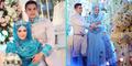Foto: Pernikahan Mewah Riznuram Bak Cinderella Berhijab