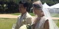 Foto Pernikahan Romantis Kahi di Hawaii