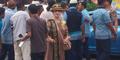 Heboh Sosok 'Presiden Perdamaian' di Tengah Demo Sopir Taksi