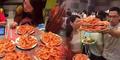 Kampungan! Begini Cara Turis Tiongkok Serbu Makan Sepuasnya