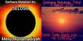 Meme Kocak Gerhana Matahari Total