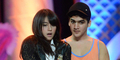 Nabilah JKT48 & Faisal Khan Pelukan Mesra di HUT ANTV