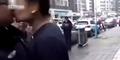 Video Pria Cium Bibir Polisi Dihujani Bogem Mentah