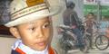 Bocah Cilik Penyetop Biker Tuai Simpati, Dihadiahi Wali Kota