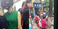 Heboh! Tren Wanita China Pakai Masker Wajah di Kereta