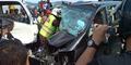 Kasus Anak Mantan Menteri Seruduk 5 Mobil Berakhir Damai