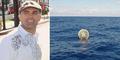 Pria AS Arungi Segitiga Bermuda Pakai Bola Plastik