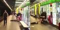 Video Heboh! Sejoli Seks di Stasiun Barcelona