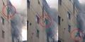 Aksi Dramatis Ibu Lempar Anak Dari Lantai 4 Saat Kebakaran