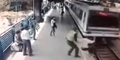 Aksi Polisi Cegah Bunuh Diri, Tabrakan Diri Ke Kereta Api