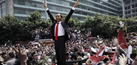 Foto Kemeriahan Pesta Rakyat Sambut Presiden Jokowi
