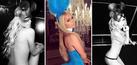Foto Seksi Paris Hilton Pakai Kostum Kelinci Saat Halloween