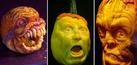 Foto Ukiran Labu Halloween Tampak Realisitis Kreasi John Neil