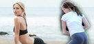 Foto 10 Artis Seksi Pakai Celana Yoga