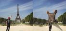 Foto Pria Berpose di Menara Eiffel jadi Korban Photoshop Kocak