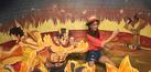 Pameran Lukisan 3D One Piece Pertama Dibuka