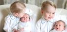 Foto Imut Pangeran George Pangku Putri Charlotte