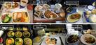 Foto: Perbedaan Makanan Kelas Ekonomi & VIP Pesawat di Dunia