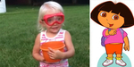 Video Bocah 2 Tahun Tantang Dora The Explorer Lakukan Ice Bucket Challenge