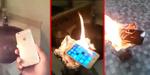 Pria Arab Mengamuk dan Bakar iPhone 6