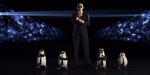 Duet Pitbull-Pinguin Madagascar di Video Klip Celebrate