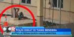 Video Oknum Polisi Kecanduan Narkoba Diikat di Tiang Bendera
