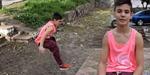 Aksi Ciamik Remaja Berkaki Satu Jago Parkour