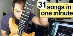 Pria Ini Mainkan 31 Lagu Dalam 1 Menit