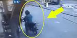 Video Pria Apes Tertimpa Mesin Pompa BBM di SPBU