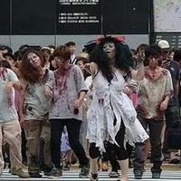 Zombie Serang Jepang Untuk Promosikan Film Resident Evil 5