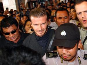 David Beckham Tiba Di Jakarta