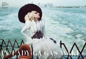 Lady GaGa bugil di Vanity Fair
