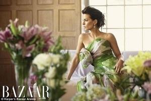 Sisi Elegan Kate Beckinsale di Majalah Bazaar