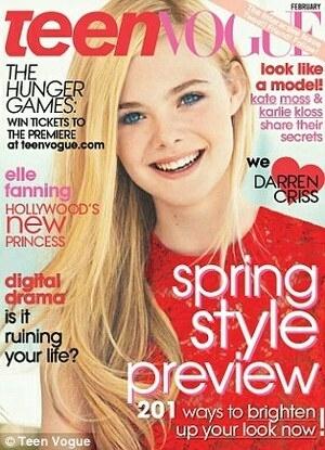 Cute! Elle Fanning di Majalah Teen Vogue