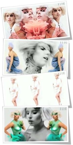 Lady GaGa Pamer Kulit Indah di Elle