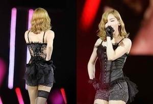 Konser Seksi Taeyeon dengan Lingerie