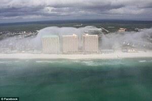 Fenomena Langka Kabut seperti Gelombang Tsunami