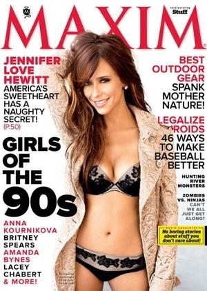 Jennifer Love Hewitt Berpose Seksi dengan Bikini di Maxim