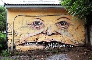 Hah! Bangunan di Rusia Berbentuk Wajah Manusia