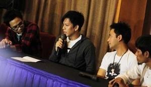 Ariel Jumpa Fans di Bandung