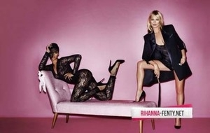 Rihanna & Kate Moss Kompak Bugil di V Magazine