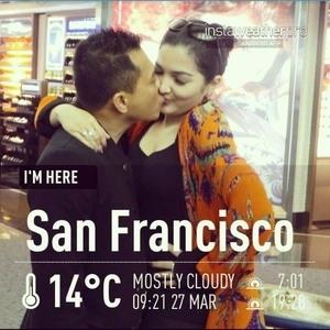 Foto Ciuman Anang Hermansyah & Ashanty