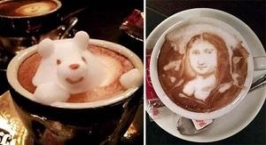 Latte Art Keren Karya Kazuki Yamamoto