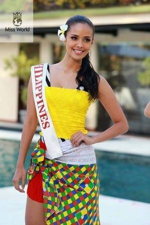 Cantiknya Kontestan Miss World 2013 dengan Kain Sarung Bali (2)