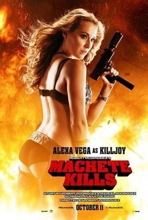 Wanita-wanita Seksi dan Berbahaya di Poster Machete Kills