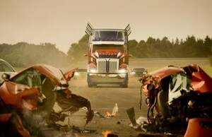 Foto Proses Syuting Transformers: Age of Extinction