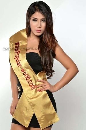 Foto Hot Caleg Seksi Destiara Talita di Majalah Popular