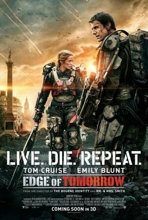 3 Poster Keren Edge of Tomorrow