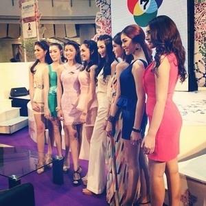 Cantiknya Waria Kontestan Miss Tiffany's Universe 2014